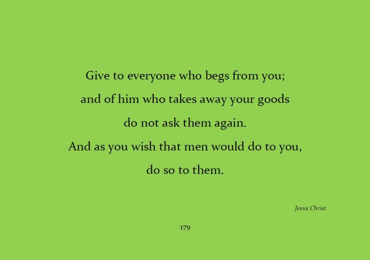 Give to everyone...