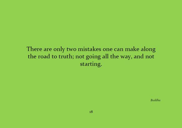 There are only two mistakes...